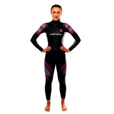 Yonda spirit wetsuit female front
