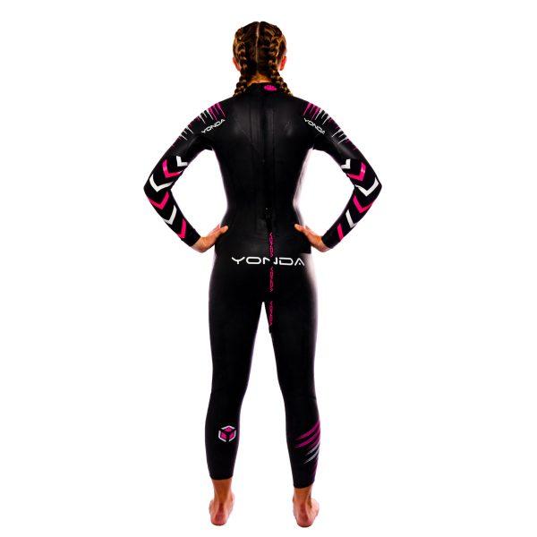 Yonda spirit wetsuit female back