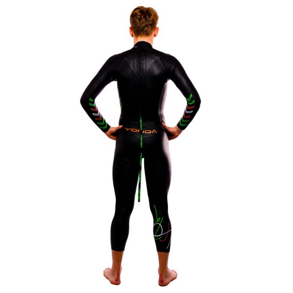 Yonda Spectre wetsuit male back