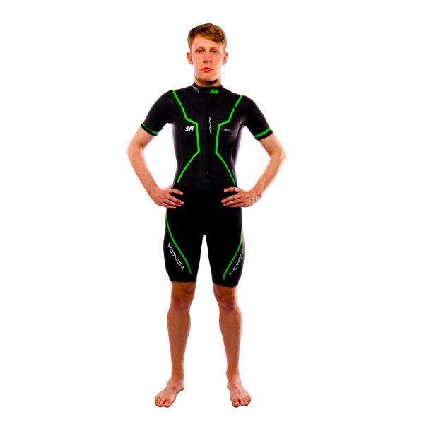Yonda ghost swim run wetsuit male front