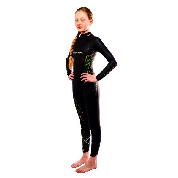 Yonda Spectre kids wetsuit side