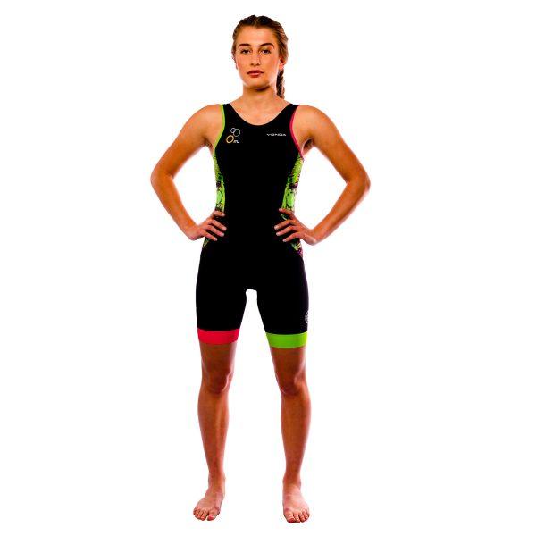 Velocita Performance Triathlon suit Womens Racer back