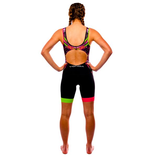 Velocita Performance Triathlon suit Womens Racer back - back