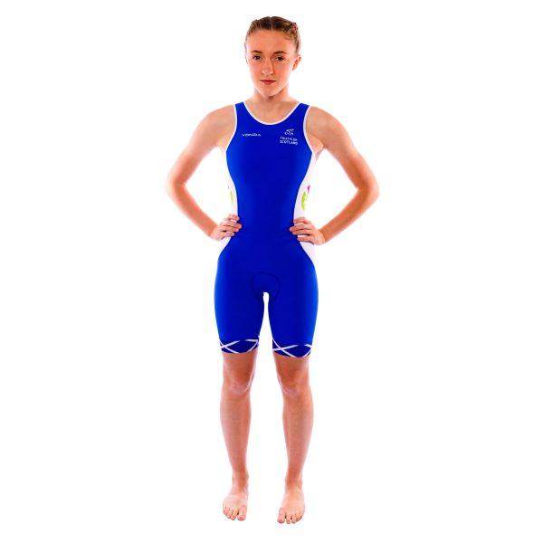 Scotland Replica Performance Triathlon Suit Womens Racer Back
