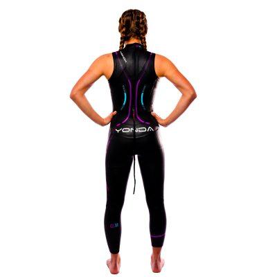 Yonda ghost 2 sleeveless female back