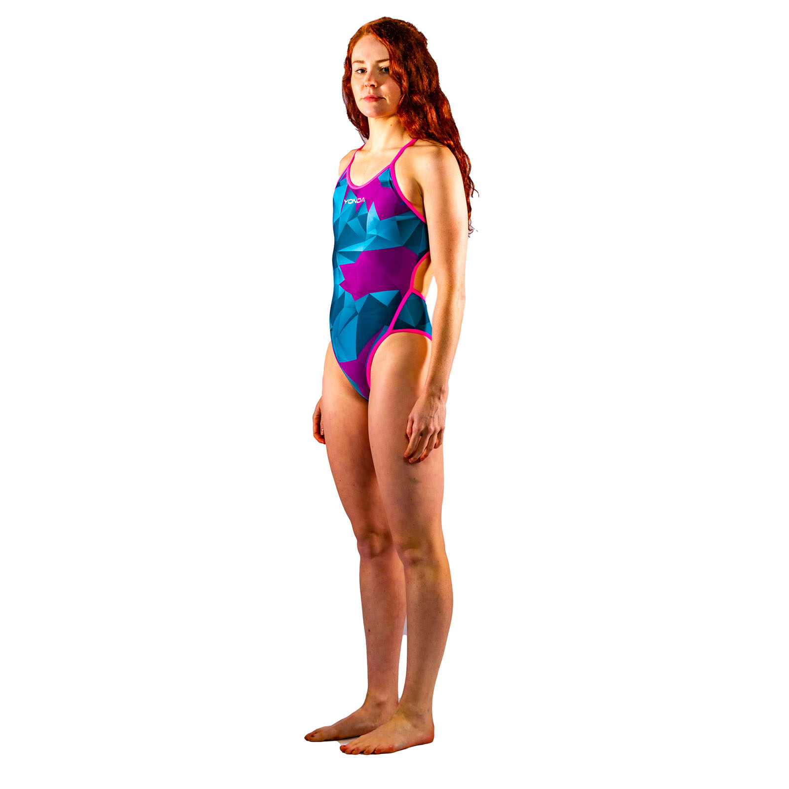 Astratto Blu Ladies Swimsuit