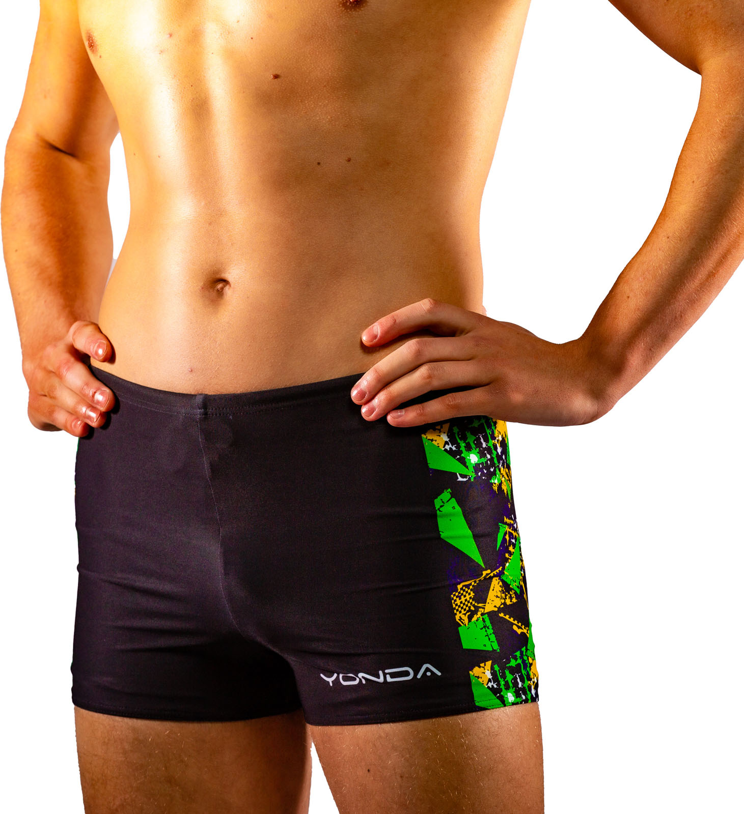 Graffiti Mens Swim Shorties