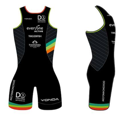 Performance Tri Suit - ladies open back