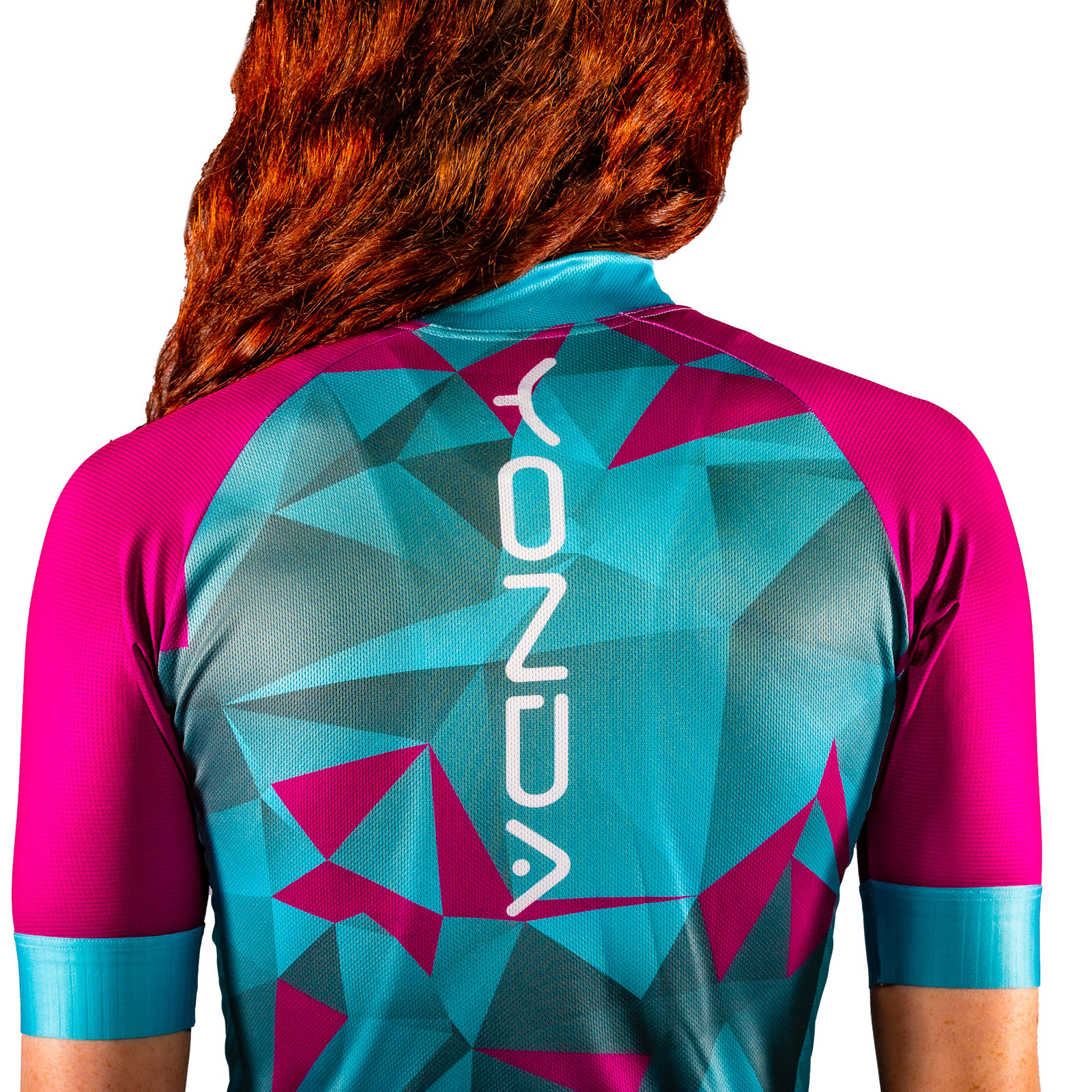 Astratto Blu Cycle Race Jersey - Women's