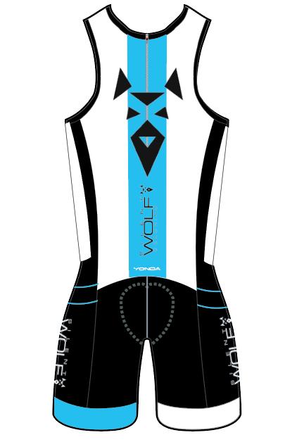 Core zip back trisuit - mens/unisex